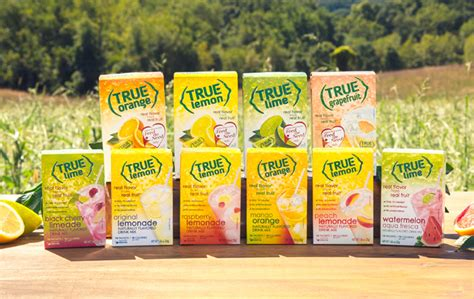 Free Product Sles True Lemon And True Lime by True Lemon Packets Sugar Free Water Flavoring Packets