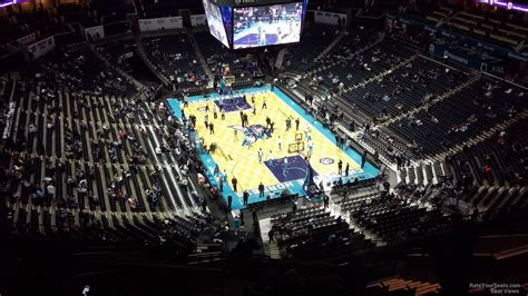 section 202 a 11 spectrum center section 202 charlotte hornets