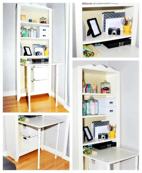 hensvik bookcase desk hack ikea hacks