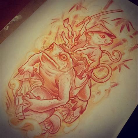tattoo japanese frog 67 best frog tattoo images on pinterest frog tattoos