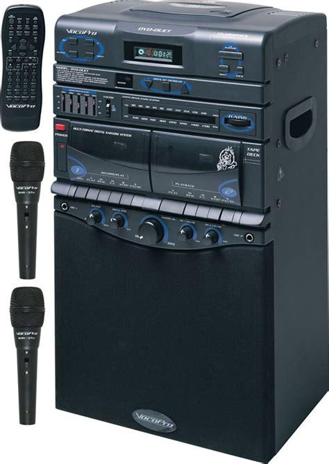 cdg format karaoke vocopro dvd duet 80w semi pro multi format karaoke all in