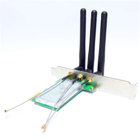 Antena External Modem high gain external 1t1r antenna with pcie card for modem routers 2dbi 150mbps xht 1501pe