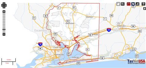 Santa Rosa County Search Santa Rosa County Florida Property Search And Interactive Gis Map