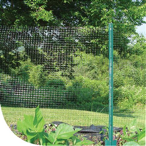 backyard netting dewitt 7 x100 deer fence netting