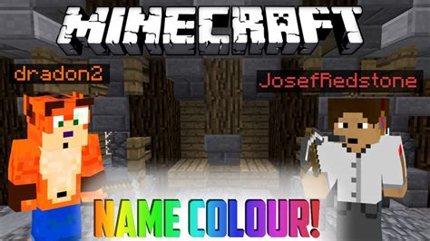 how to change the color of your name in minecraft how to change the color of your name in minecraft
