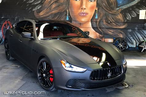 satin black maserati 2014 maserati ghibli colors autos post