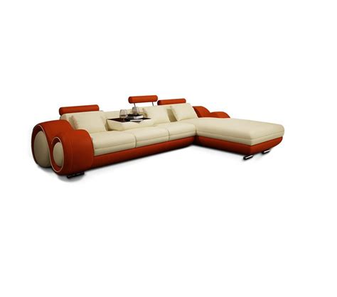 leather sectional sofa with recliner dreamfurniture 4085 modern leather sectional sofa