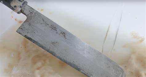 polishing knife blade popular shows the mesmerizing knife