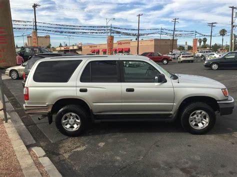 Toyota Shop Las Vegas 1999 Toyota 4runner Base 4dr Suv In Las Vegas Nv Car Store