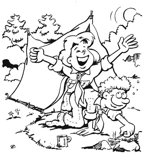 Scouts Coloring Pages Scouts Coloring Pages
