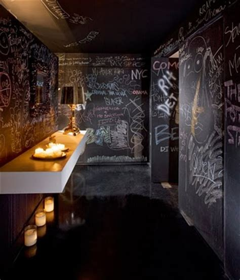 ideas   chalkboard walls   rooms