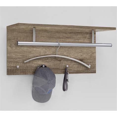 Mounted Coat Rack Shelf by Spot Oak Wall Mounted Coat Rack With Shelf 21214