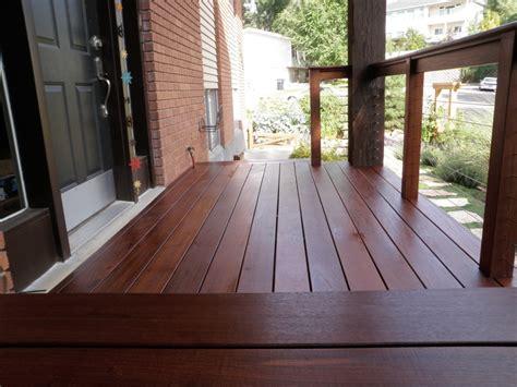 1 x 6 porch flooring ipe porch deck in utah edeck