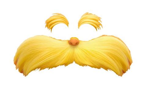 lorax mustache template lorax mustache cut out lorax ified image spam now with
