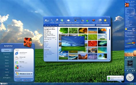 microsoft themes new complete windows 7 theme for windows vista free download