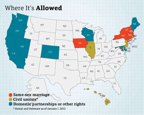 same marriage united states map same marriages in the us