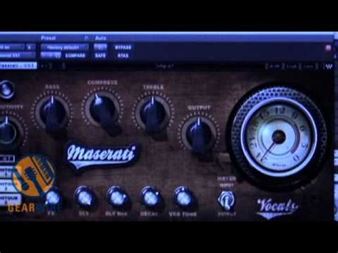 Waves Maserati by Waves Tony Maserati Collection Vx1 Vocal Enhancer