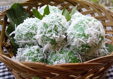 cara membuat jajanan pasar dari beras ketan cara membuat klepon paling praktis dengan ubi dan ketan