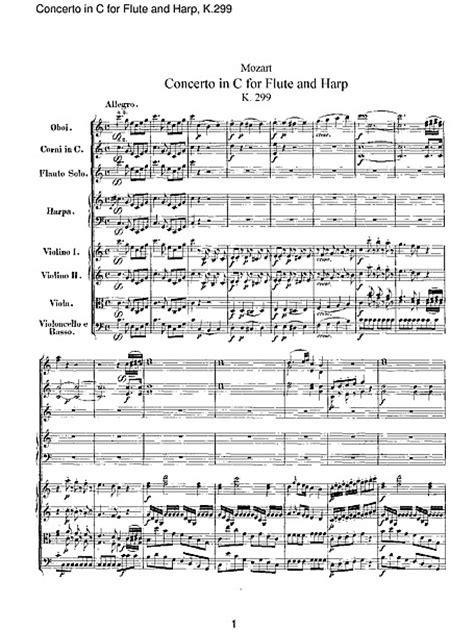 Concerto for Flute, Harp, and Orchestra Orquesta