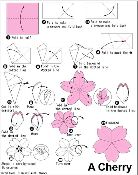 how to fold a origami flower origami