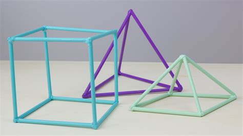 How To Make 3d Geometric Shapes Out Of Paper - diy 3d geometric shapes a craft in your day