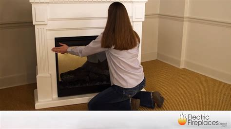 electric fireplace inserts mantel packages