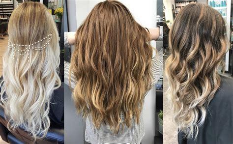 cual es el color balayage highlights color del cabello archives fiufiu