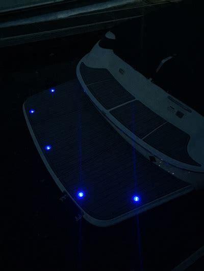 boat lights under swim platform main gallery myswimplatform