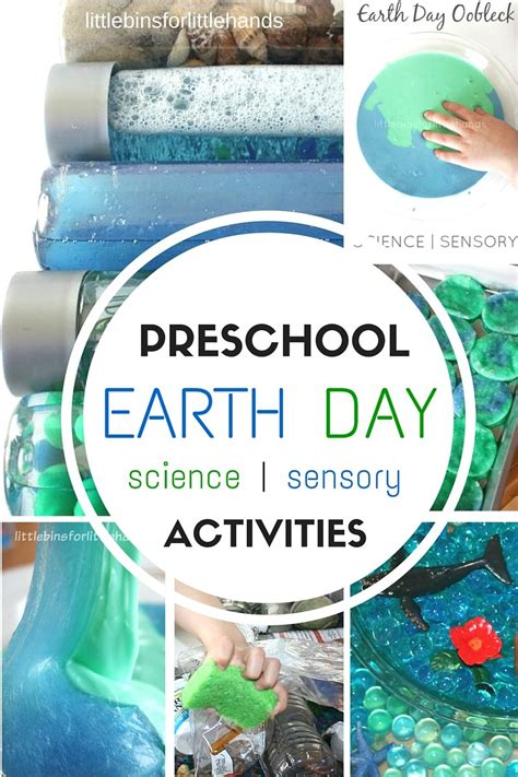 science themes in kindergarten preschool earth day activities science and sensory play