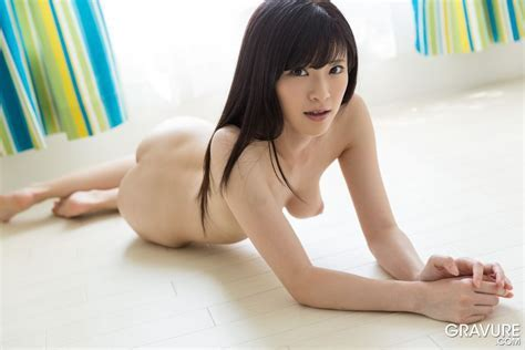 Sara Yurikawa On Her Knees And Bare
