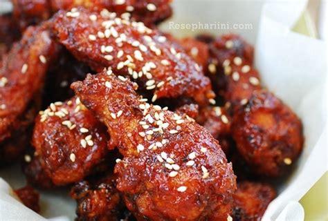 ayam goreng korea spicy crispy korean fried chicken