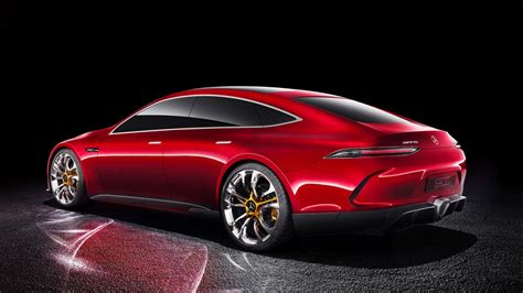 cars mercedes mercedes amg reveals gt sedan concept cars co za