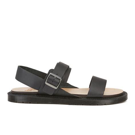dr martens mens sandals dr martens s halton kennet 3 sandals black