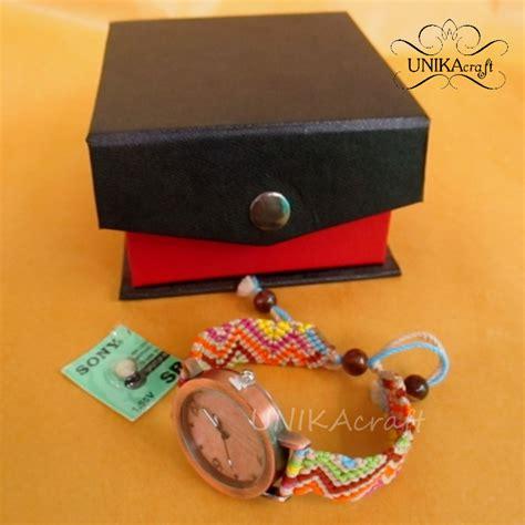 Tali Jam Tangan Press Jahit tali jam handmade unikacraft