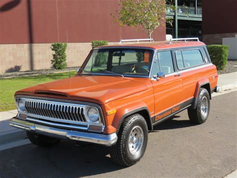 jeep chief for sale 2015 1976 jeep cherokee super chief widetrac for sale