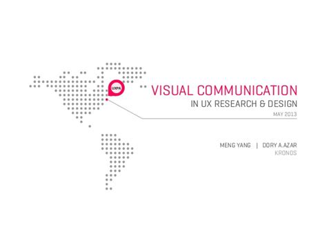 visual communication design ppt uxpa boston 2013 visual communication in ux research and