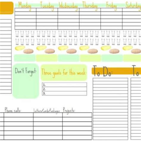week at a glance calendar template week at a glance free printable calendar free printable