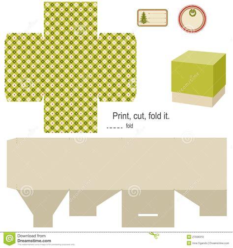 molde da caixa de presente foto de stock imagem 27036310