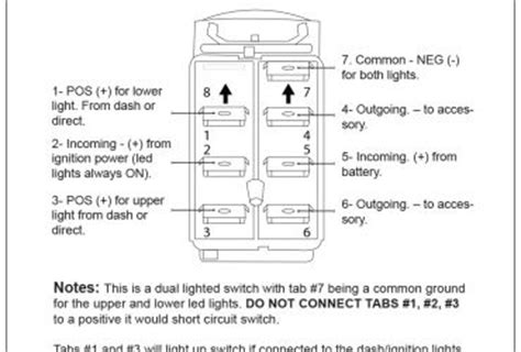 winch rocker switch wiring diagram wedocable