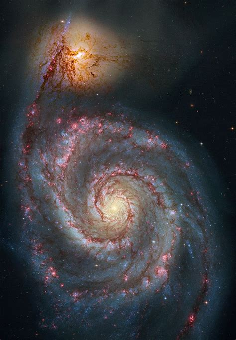 whirlpool galaxy whirlpool galaxy messier 51 ngc 5194 constellation guide