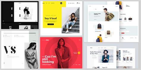 web design inspiration fashion sites fashion web design inspiration 2017 muzli design