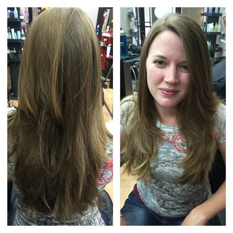 centre  attraction   stylish layered hairstyles  straight hair