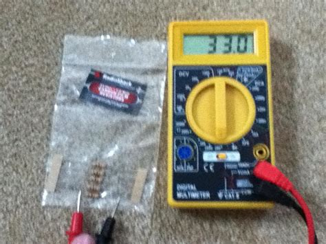 testing resistor using multimeter how can i test my multimeter s battery without a low battery indicator electrical engineering