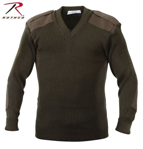 Sweater Urgan 38 Original Termurah Se rothco acrylic v neck sweater od jackets clothing armyoutdoor se