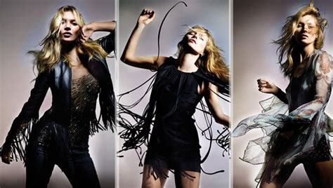 Kate Moss Causes Frenzy At Londons Topshop by Kate Moss For Topshop