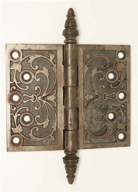 decorative door hinges antique cast iron decorative door hinge olde good things