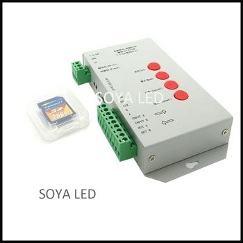 Controller Pixel Rgb Programmable Led With Sd Card And Software programmable sd card rgb led pixel controller 2048 pixels t1000s buy led pixel controller sd