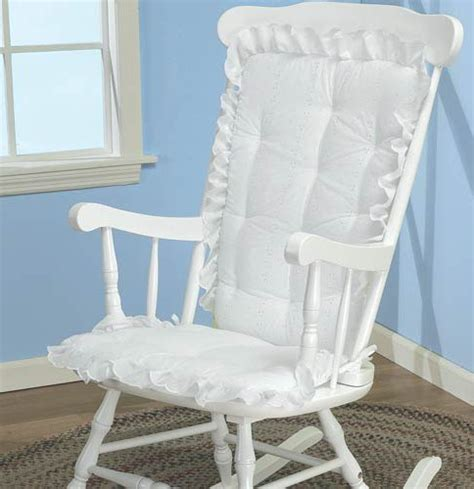 New Rocking Chair Cushions Highlighted By Rocking Chair Pads Nursery