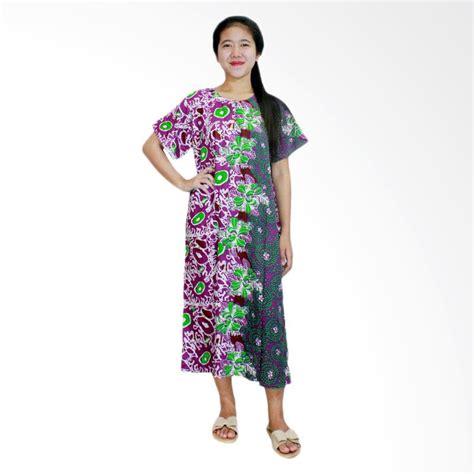 Daster Busui Dan Bumil jual batik alhadi dpt001 32b daster kancing lengan pendek