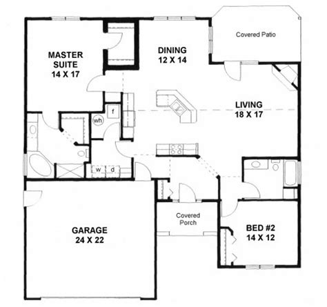 plan 1658 handicapped accessible house plan